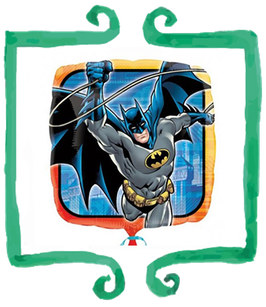 "Palloncino mylar Batman 18""/45cm"