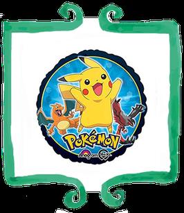 """Palloncino mylar Pokémon 18""""/45cm"""