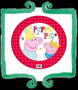 "Palloncino mylar Peppa Pig 18""/45cm"