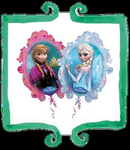 Palloncino mylar Specchio Elsa e Anna - SuperShape