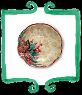 Piatti Fondi Agrifoglio - 24 cm 10 pezzi