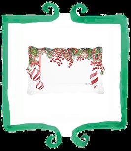 Vassoio Pretty Christmas - 4 pezzi 30 x 18 cm