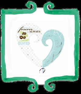 Palloncino Cuore Tiffany- SuperShape