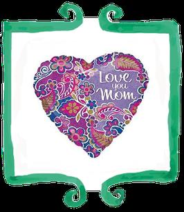 Palloncino Mylar Love You Mom