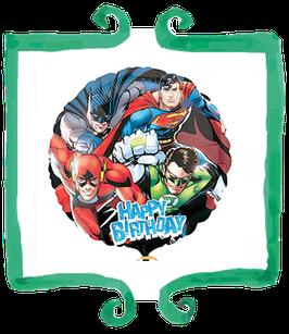 "Palloncino mylar Justice League 18""/45cm"