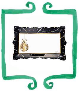 Vassoio Merry Chic - 4  pezzi 30 x 18 cm