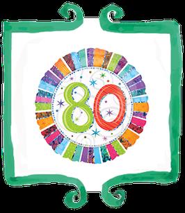Palloncino 80 anni
