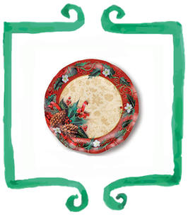 Piattino Dessert Agrifoglio - 21 cm 10 pezzi