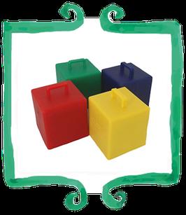 Pesetto cubo per palloncini
