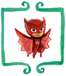 Palloncino mylar Gufetta PJ Masks
