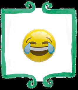 Palloncino Mylar Emoticon Risata