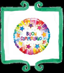 Palloncino Buon Compleanno - Qualatex