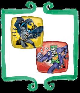 """Palloncino mylar Batman e Joker 18""""/45cm"""