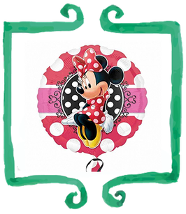 """Palloncino mylar Minnie Mouse 18""""/45cm"""