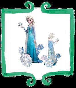 Palloncino Airwalker Elsa Frozen - 144 x 88 cm