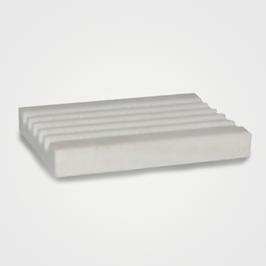 Weiße Marmor Seifenablage