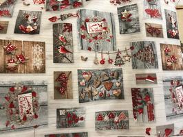 Baumwollstoff Weihnachts-Motive