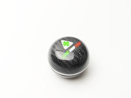Alfa Romeo 156 Carbon Schaltknauf (Für Rückwärtsgangarretierung)