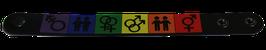 Silikonarm       band  LGBT* Icons