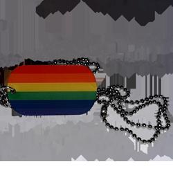 """Kette mit Anhänger """"Regenbogen"""""""
