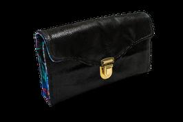 Portemonnaie schwarz/bunt