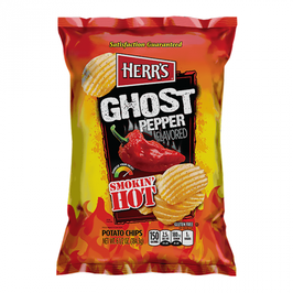 Chips ondulées au Bhut Jolokia - Herrs
