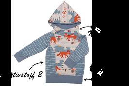 Pullover Krümel - eigene Stoffauswahl