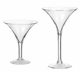 Vasi Martini grandi (diametro 25cm) altezza 30 e 40cm