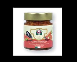 Scharfes Gemüse in Olivenöl