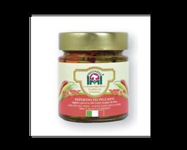 Peperoncini in Stücken in Olivenöl