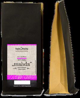 "da kaffee ""mahda"" bzw. ""hawedere"" (gemahlen)"