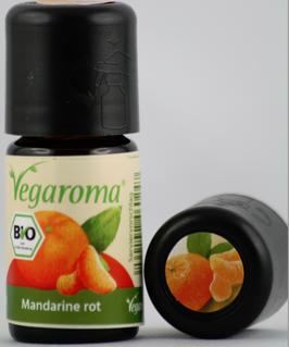Mandarine rot* bio Vegaroma - vegan   5 ml