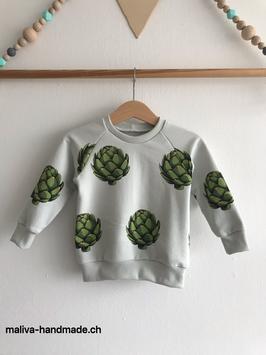 Raglan Sweater Artichoke