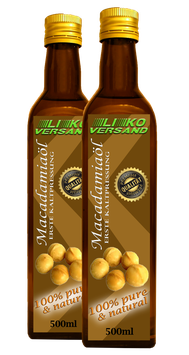Macadamiaöl kaltgepresst