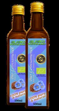 Leinöl bio kaltgepresst nativ