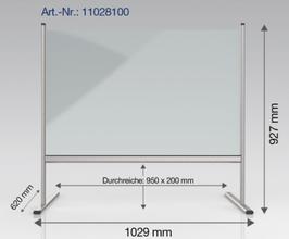 CIP-11028100 Hygienewand (Spuckschutz)
