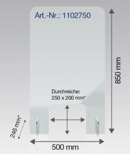 CIP-1102750 Nies-Spuckschutz