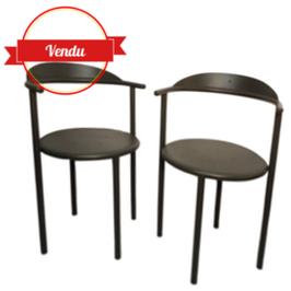2 chaises Hashwood de Philippe Starck