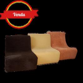 Chauffeuse modulable design seventies ( couleur au choix )