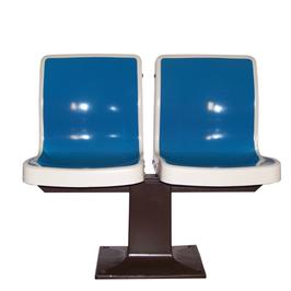Paire de fauteuils de bowling vintage Brunswick 1950-60