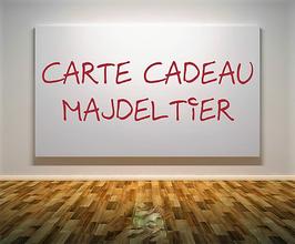 Carte cadeau Majdeltier