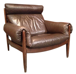 Superbe fauteuil en cuir
