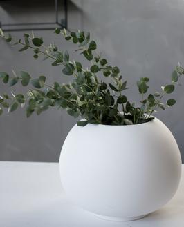 Storhaga Vase weiß