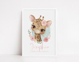 """Print personalisiert """"Giraffe"""""""