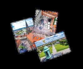 """Münster von oben – Das """"kleine"""" Postkarten-Set"""