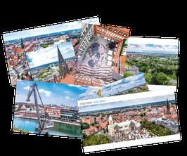 """Münster von oben – Das """"komplette"""" Postkarten-Set"""