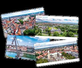 """Münster von oben – Das """"große"""" Postkarten-Set"""
