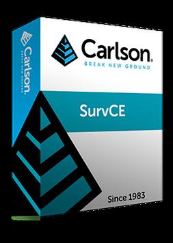 Carlson SurvCE (Modul Trasse)
