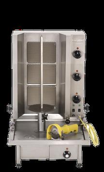 Gyros-Grillgerät Typ Poly Gas 3
