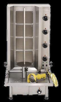 Gyros-Grillgerät Typ Poly Gas 4